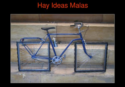ideas malas
